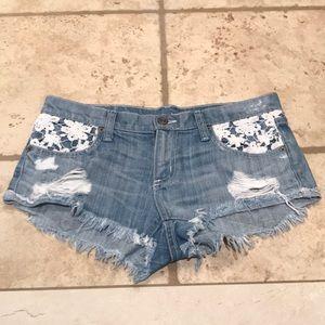 CARMAR Lacey Jean Shorts